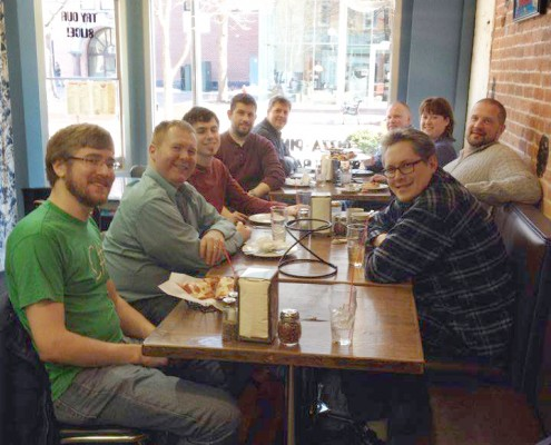 Tech and Freelancers lunch in Iowa City
