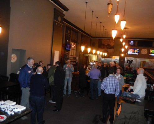 February TechBrew in Cedar Rapids, Iowa at the NewBo Ale House