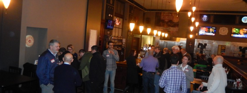 February TechBrew in Cedar Rapids, Iowa at the NewBo Ale House