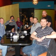 WordPress meetup dinner Cedar Rapids, Iowa