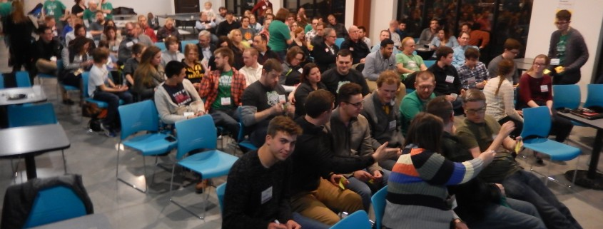 People at Startup Weekend In Cedar Rapids, Iowa