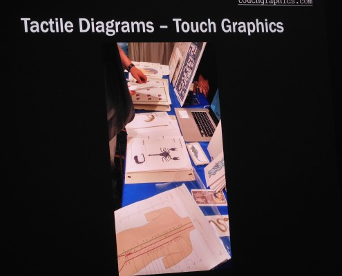 Tactile Diagrams with touch graphics
