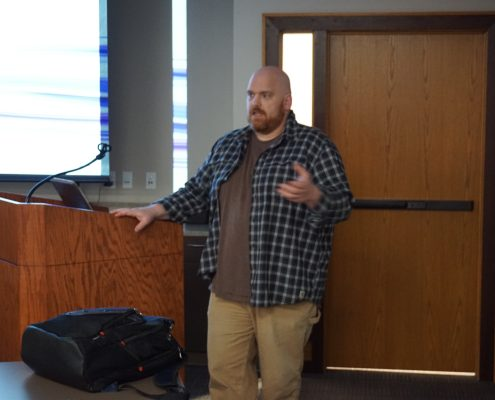 Andrew Miller gives a presentation on the Gravity Forms plugin for WordPress