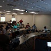 April 2016 WordPress meetup group in Cedar Rapids, Iowa