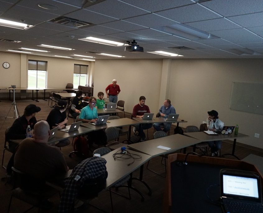 April 2016 WordPress meetup group in Cedar Rapids, Iowa