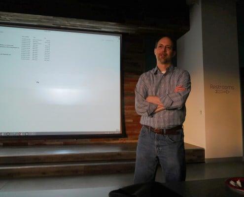 Greg Sohl host of the CRIneta Cedar Rapids .NET User Group