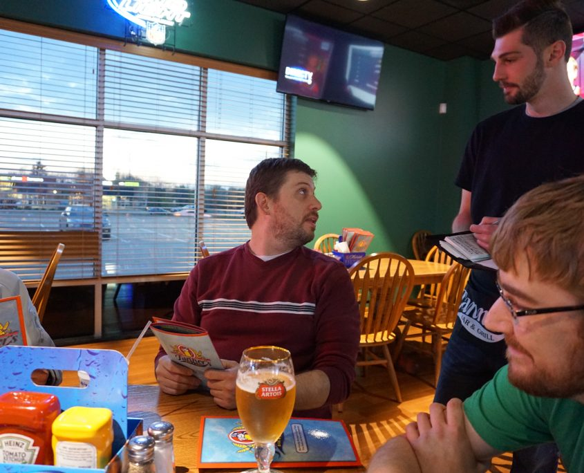Nate Houstman at Tanners Bar and Grill in Cedar Rapids, IA