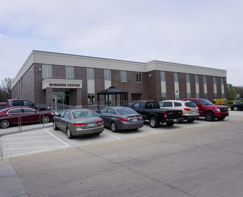 Outside of Linn Area Community Credit Union - Business Center in Cedar Rapids, iowa