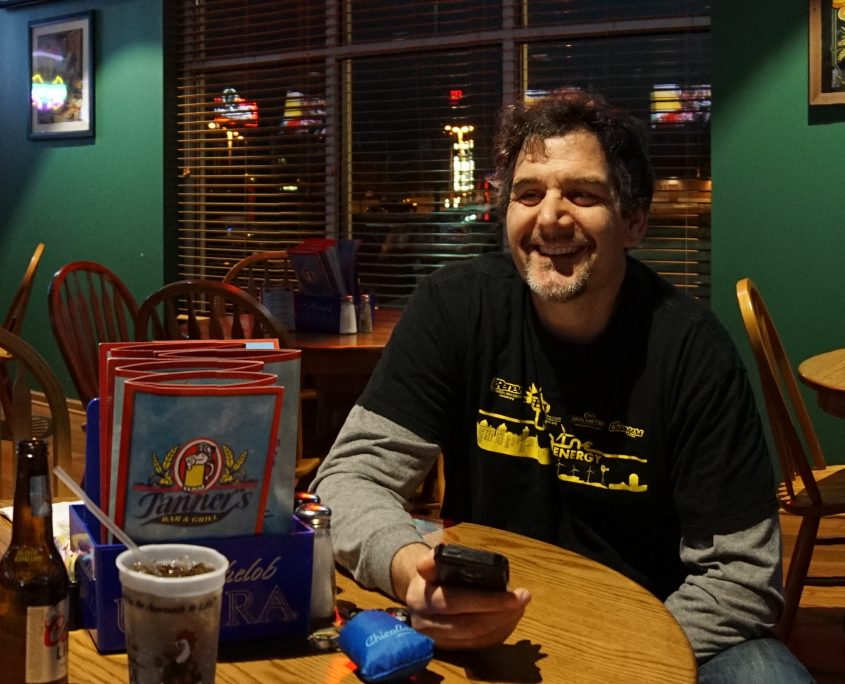 Panoramic at at the after party at Tanners Bar and Grill in Cedar Rapids, IA