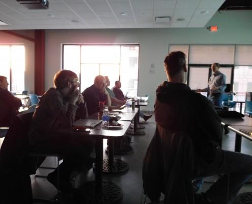 Participants at the CRIneta Cedar Rapids .NET User Group