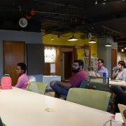 People at WordPress meeting at Gravitate in Des Moines, Iowa