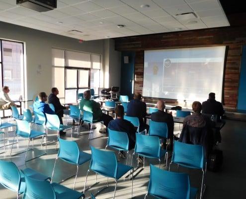 People at the CRIneta Cedar Rapids .NET User Group