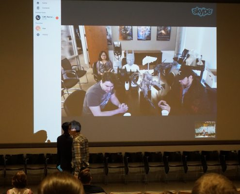 Skype conference held at EPXCON 2016