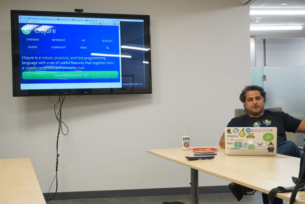 Uday Verma talks about RUM a library for ClojureScript language that compiles to JavaScript