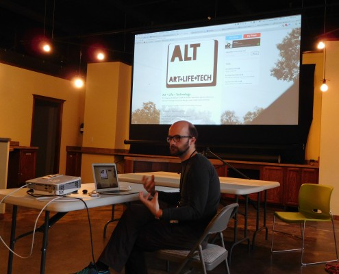 Wesley Beary talks about ALT (Art + Life + Tech)