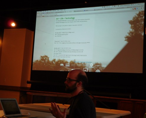 Wesley Beary talks about ALT (Art + Life + Tech) and events this weekend