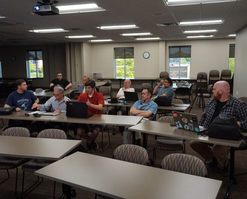 Members of the WordPress meetup group in Iowa
