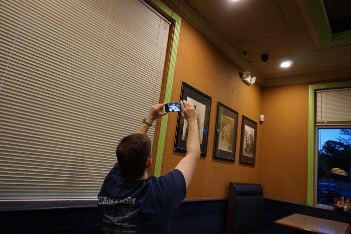 Nate Houstman taking a selfie