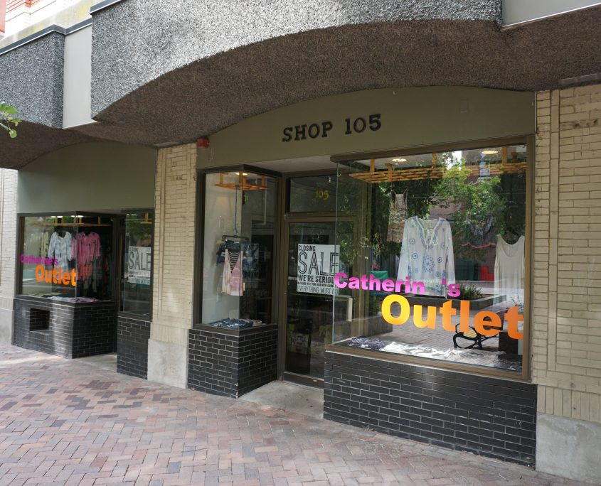 The Catherine's Outlet in Iowa City had the wrong name and the pin on Google Maps wasn't even close to the location. I'm guessing this business is in trouble due to no one being able to find it.