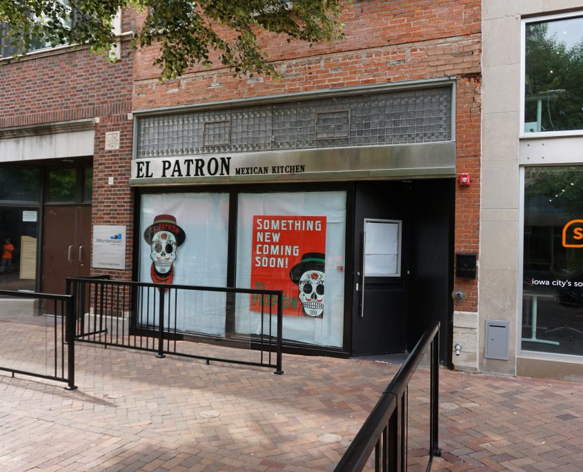 El Patron Mexican Kitchen in Iowa City isn't opened yet, but I was able to get it added to Google Maps for them.