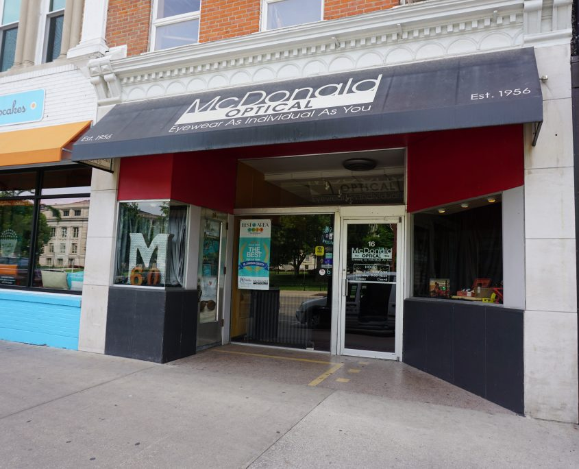 Added McDonald Optical in Iowa City to Google Maps