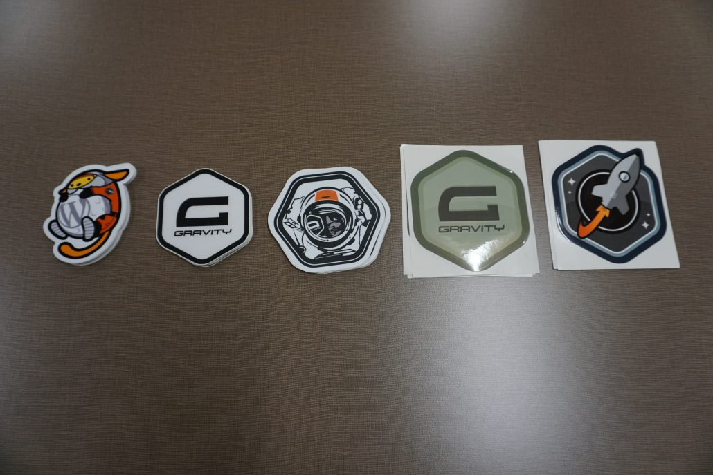 Swag by gravity forms rocket genius 5 types of stickers