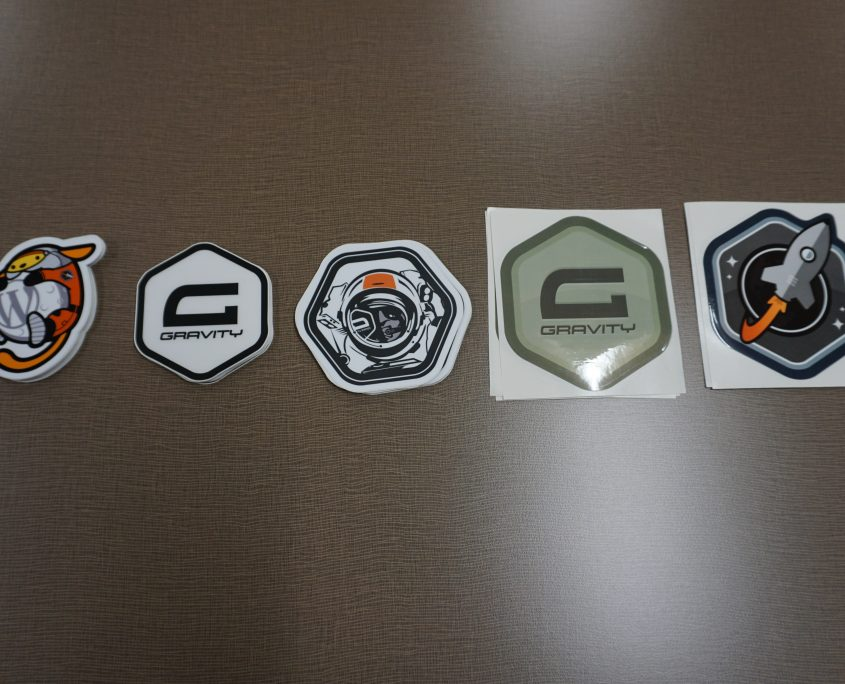 SWAG by Gravity Forms & Rocket Genius (5 types of stickers)