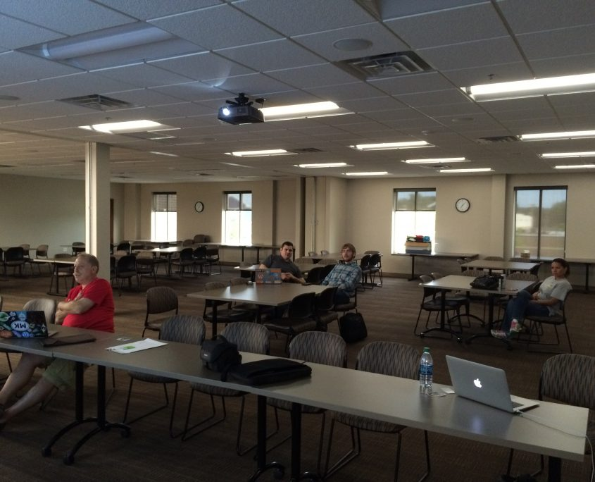 Small showing for WordPress meetup in July