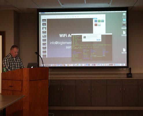 Local WordPress install with ServerPress talk by Mike Irvine in Cedar Rapids, Iowa
