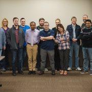 Members of the WordPress meetup in Cedar Rapids Iowa March 2017