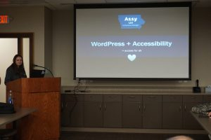 Web Accessibility for WordPress by Miss A11y herself Andrea Skeries