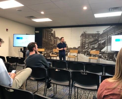 Josh Krakauer of Sculp heads up Let's Get Digital in Iowa City