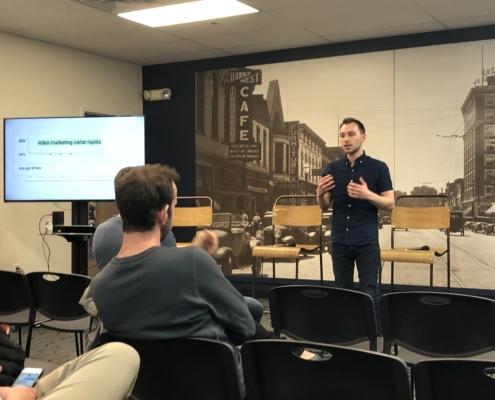 Josh Krakauer of Sculp heads up SEO Marketing - Lets get digital in Iowa City